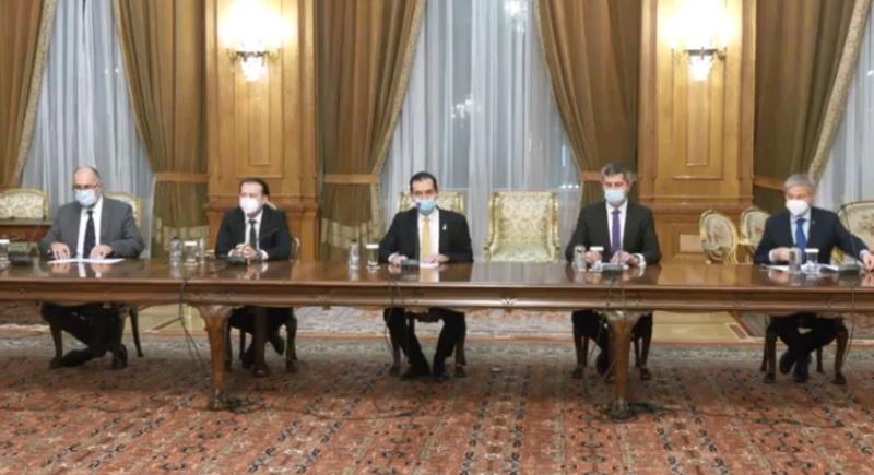PNL, USR-PLUS și UDMR au semnat Acordul de Guvernare. Cîțu-premier, Orban- președinte Camera Deputaților, Anca Dragu- președinte Senat