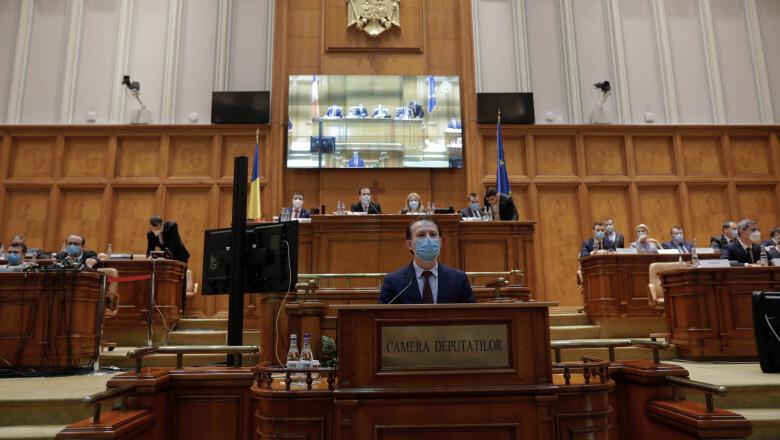 Guvernul Cîțu a fost votat în Parlament. Miniștrii vor depune jurământul la Palatul Cotroceni