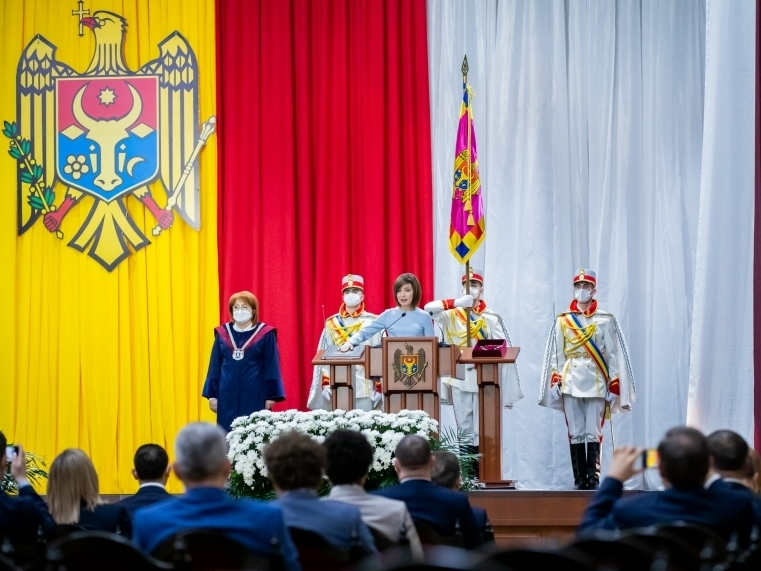 Președintele Republicii Moldova, Maia Sandu, va invita fracțiunile parlamentare la consultări. Discursul oficialului de inaugurare