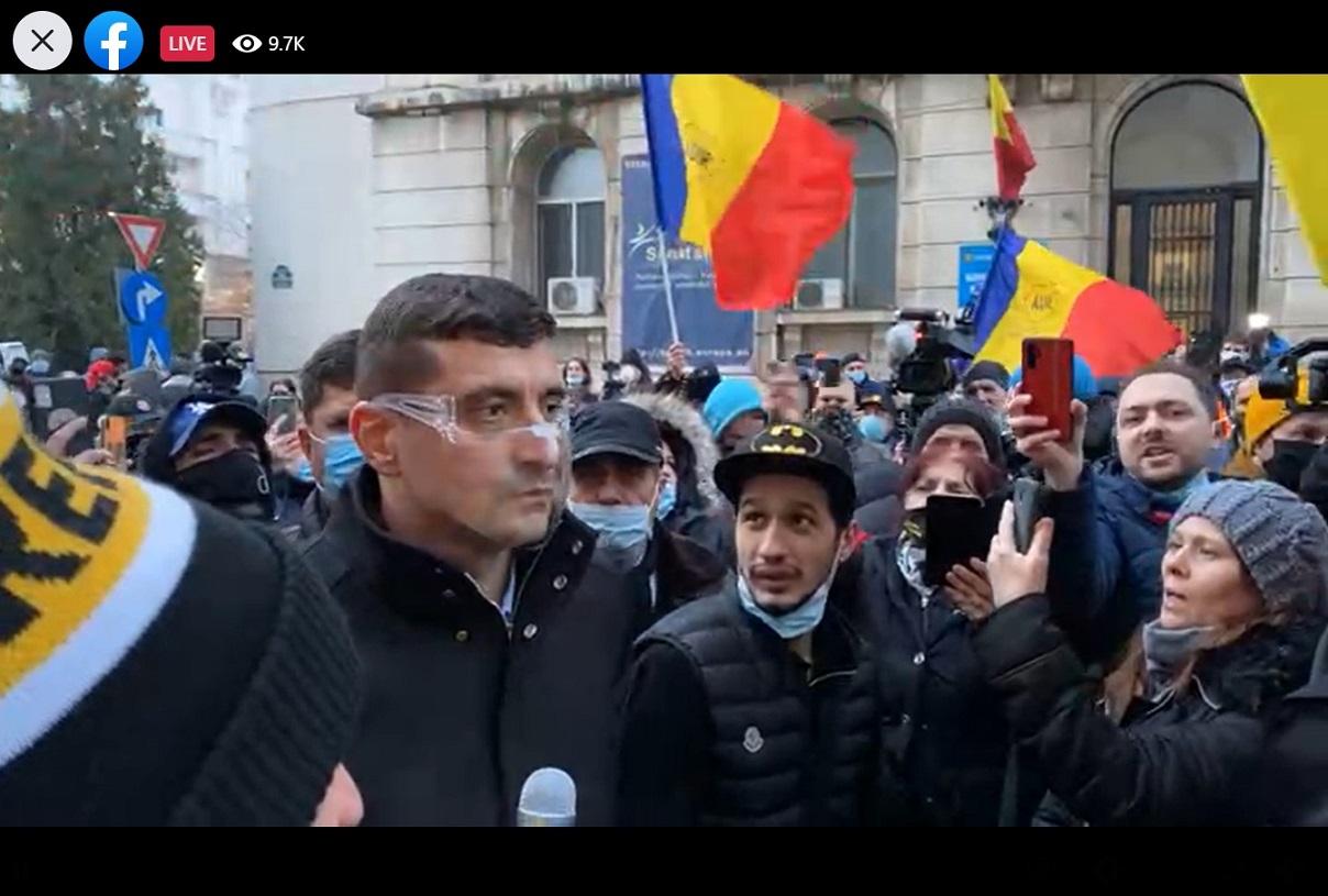 Vlad Voiculescu a dat bir cu fugiții. George Simion (AUR): O să venim zi de zi în fața Ministerului Sănătății