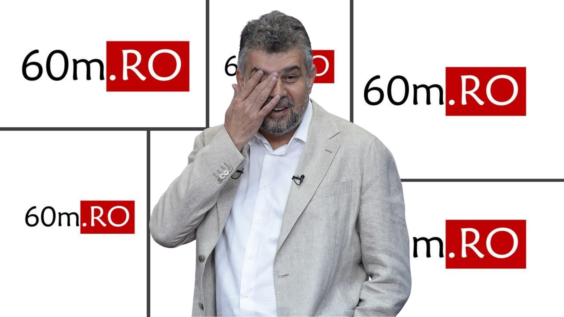 Ciolacu, scos din sărite: Funcțiile publice se împart doar între PNL și USR