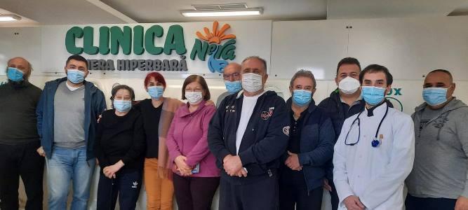 Clinica Nera, la primii pacienți. Ofertă de excepție din partea clinicii Dr. Pavel Chirilă: cazare, 3 mese/zi și ședința la camera HBOT – 500ron/zi!