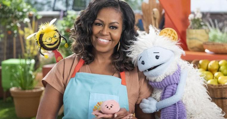 Michelle Obama va prezenta o emisiune pentru copii pe Netflix. Îi va învăța cum să mănânce sănătos