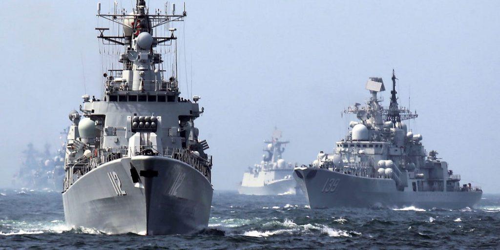 Rusia și Iran, exerciții navele comune în Golful Oman