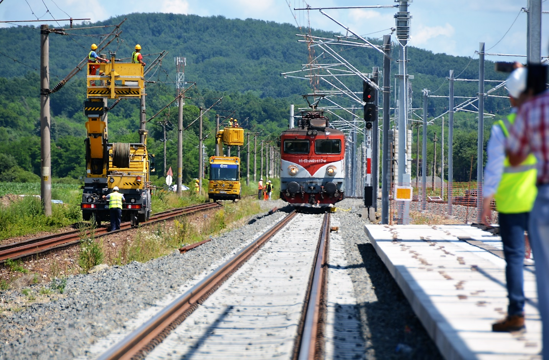 CFR SA a lansat licitația pentru proiectarea liniei Coșlariu – Cluj-Napoca. Trenurile vor circula cu până la 160 km/h