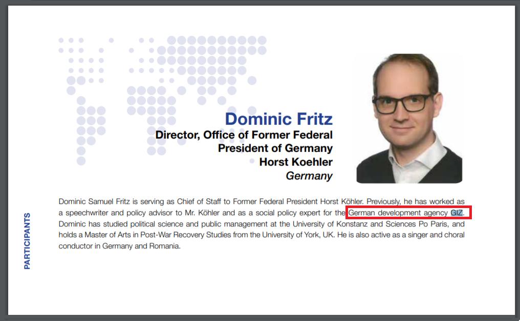 Dominic Fritz spion al BND? Primarul Timișoarei a lucrat la GiZ GMBH, agenția paravan a spionajului german – CRITICII.RO