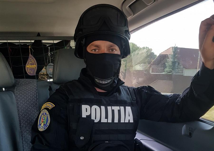 Marin Godină, comentariu acid la adresa șefilor MAI: Anul trecut, ca polițist la SAS, am tras în poligon de patru ori