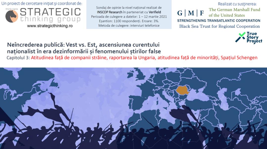 Sondaj | Peste 78% dintre români cred ca sunt tratați precum cetățeni de mâna a doua în UE. Peste 35% cred că străinii blochează construcția de autostrăzi pentru a stopa dezvoltarea României