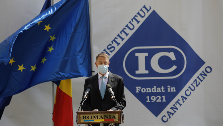 Klaus Iohannis: Virusul nu dispare prin violență și manifestări extremiste