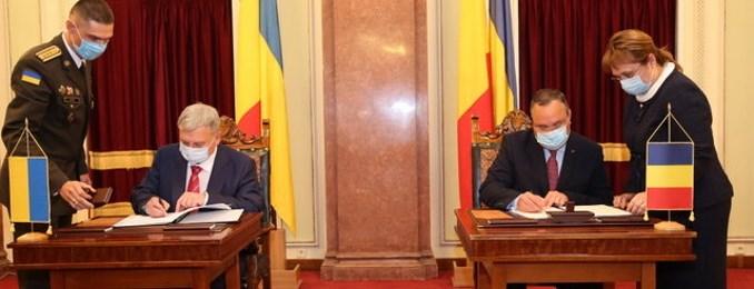 Guvernul României a aprobat Acordul de cooperare în domeniul tehnico-militar între România și Ucraina