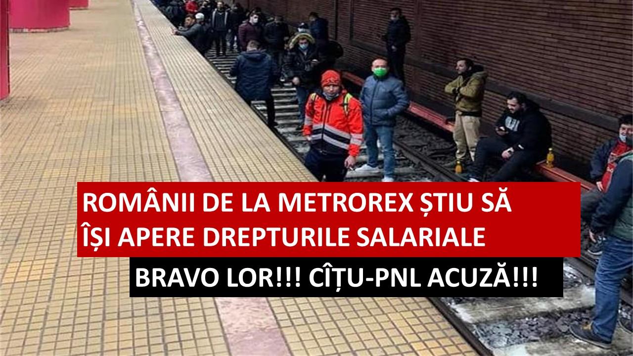 Deși presa vândută latră, Angajații de la Metrorex știu să își apere drepturile. Restul românilor pe când? – CRITICII.RO