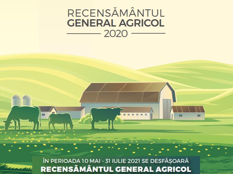 Începe Recensământul Agricol 2021, de luni, 10 mai. Amenzi de până la 5.000 pentru refuz sau furnizarea de date false