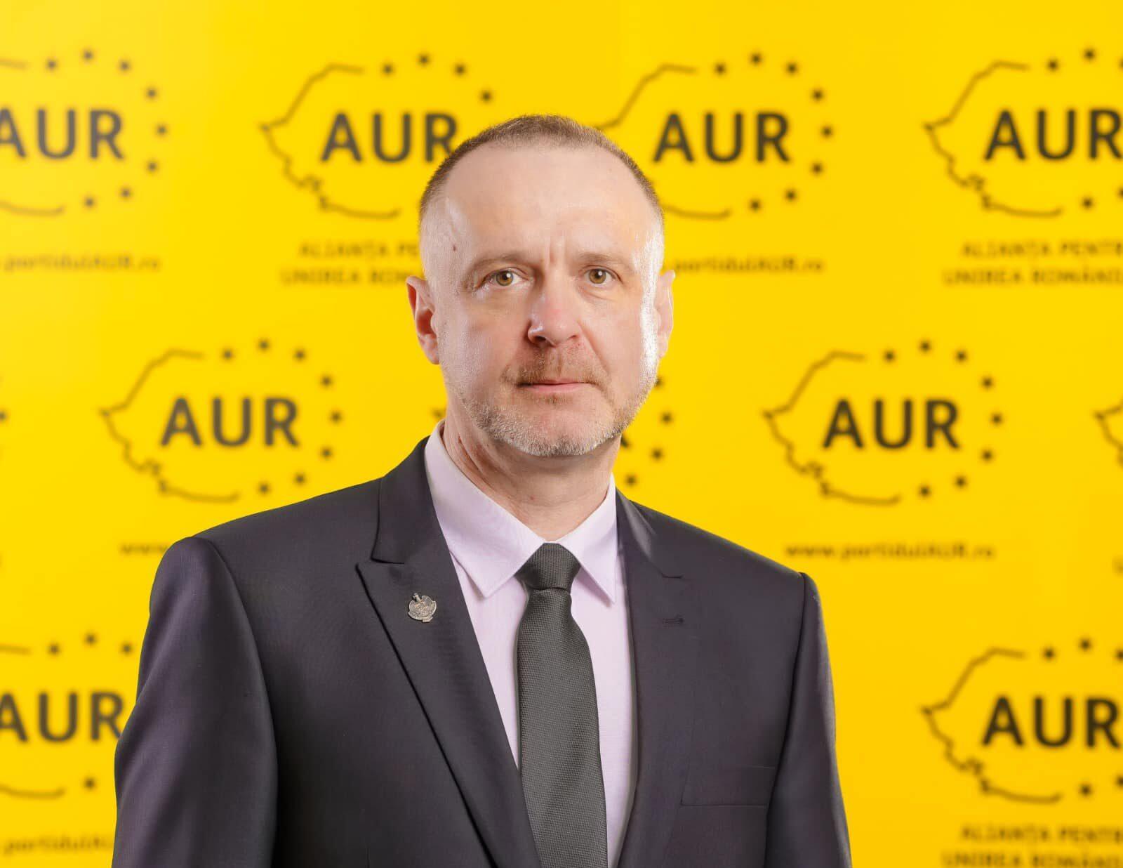 Sorin Lavric (AUR), omagiu pentru fostul deținut politic Nicolae Purcărea