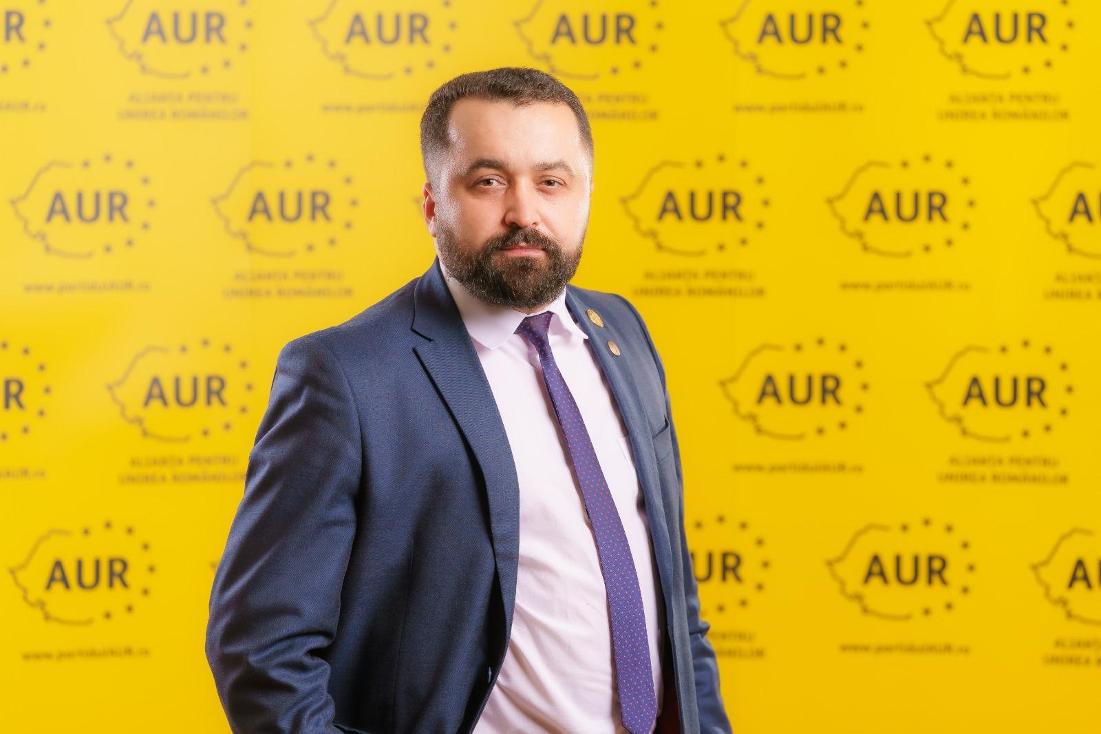 Ciprian Ciubuc (AUR) despre angajările politice: De 30 de ani în România funcționează această practică ticăloasă specifică mafiei