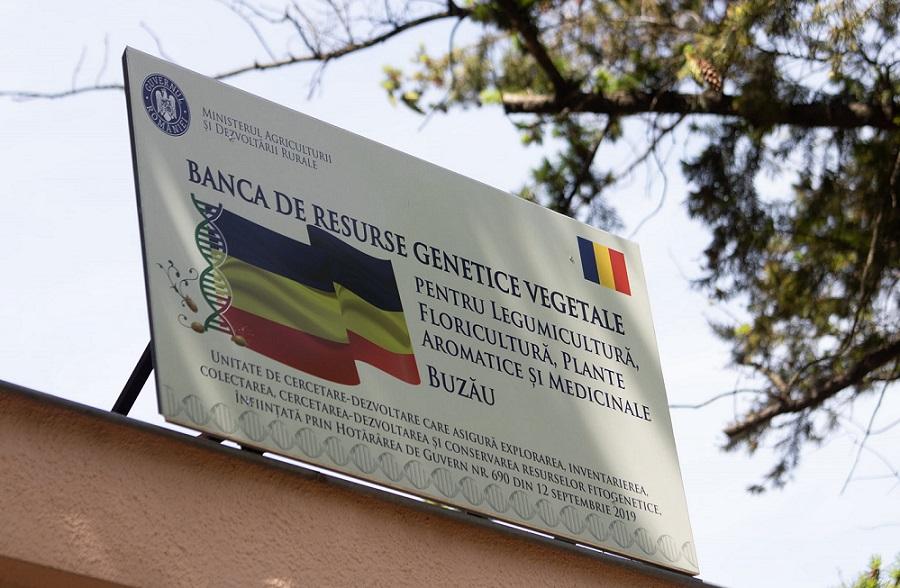 Agricultură. Banca de Gene de la Buzău, lansată oficial. Costel Vânătoru: Este mult mai valoroasă decât Banca Națională, pentru că înseamnă viitorul nostru