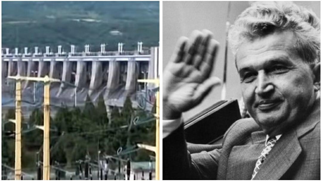 Ceaușescu a construit în 25 de ani sute de hidrocentrale, în timp ce făcea și milioane de apartamente