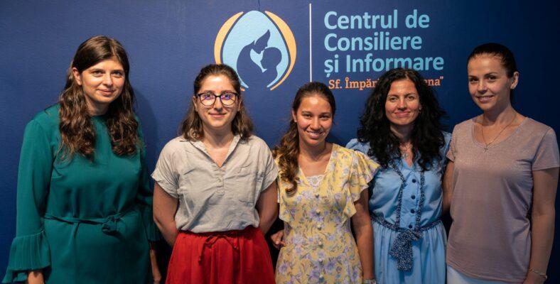 """Centrul de sprijin în criza de sarcină """"Sf. Împărăteasă Elena"""" împlinește un an. Să ducem veste mai departe"""