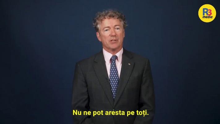 Youtube a șters în 10 minute discursul senatorului Rand Paul despre libertate : Este timpul să rezistăm. Nu ne pot aresta pe toți | VIDEO