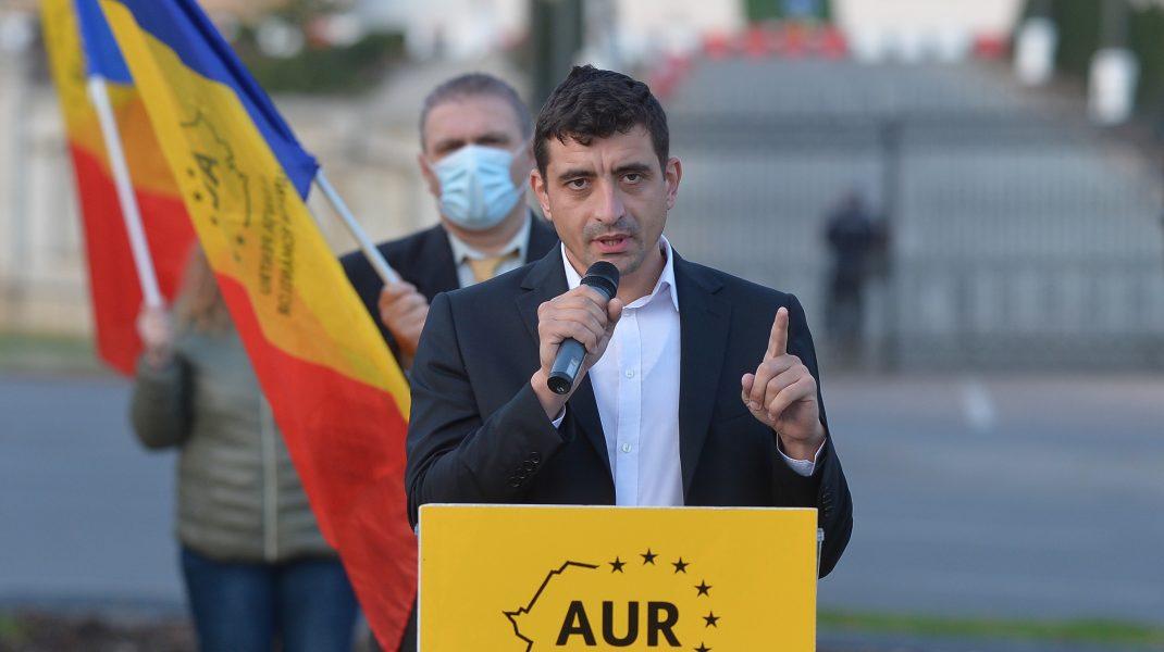 AUR cere oficial Marii Britanii să nu se mai implice în afacerile interne ale României