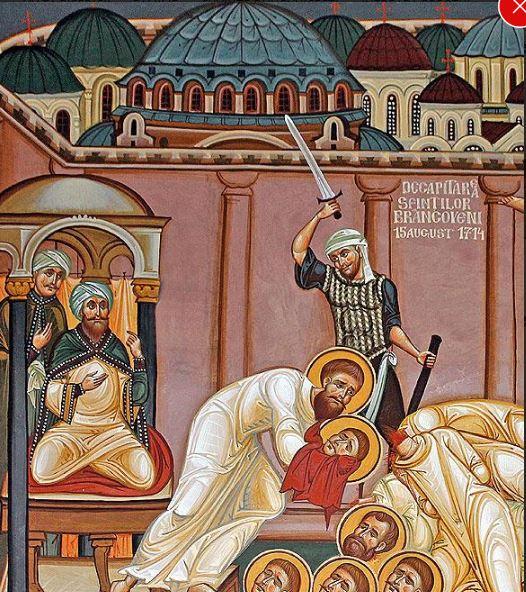 Calendarul zilei 16 august: Sf.Martiri Brâncoveni. Ziua națională de conștientizare a violențelor împotriva creștinilor