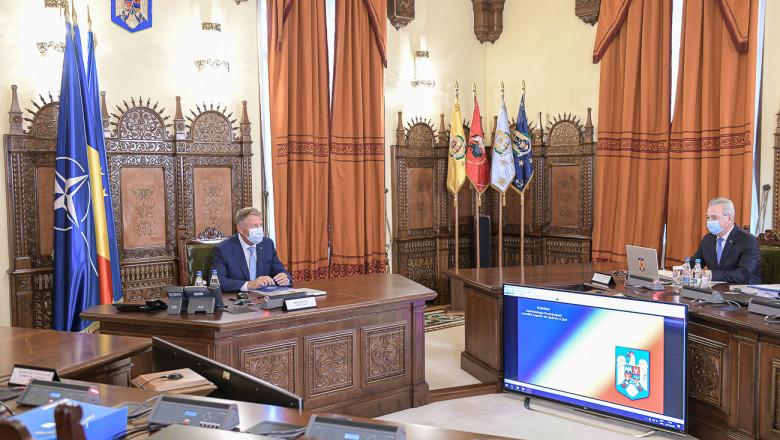 Klaus Iohannis a convocat o ședință a Consiliului Suprem de Apărare a Țării pentru a discuta situația din Afganistan