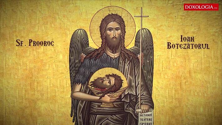 Calendarul zilei: 29 august, Tăierea capului Sf. Ioan Botezătorul (Post)