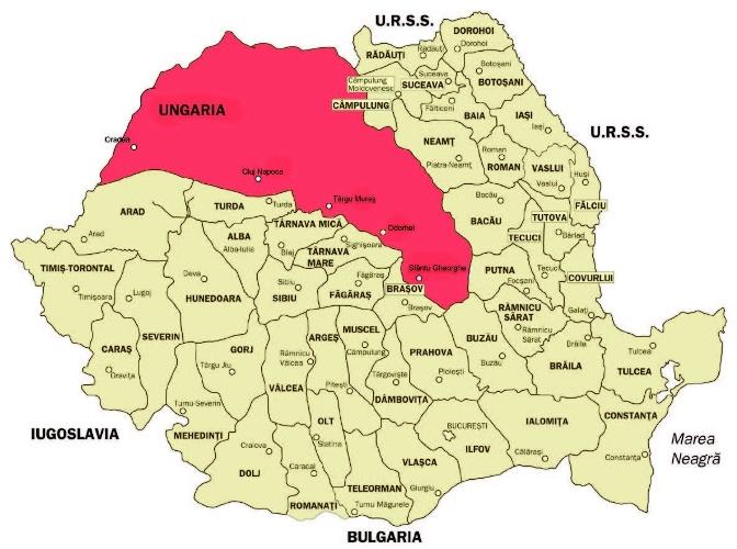 Calendarul zilei | 30 august 1940: Dictatul de la Viena, prin care României i s-a luat o parte din Ardeal