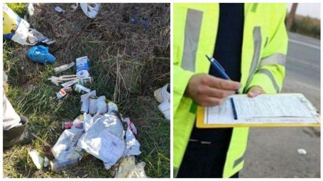Amenzi de 2.500 lei pentru cetățenii care aruncă gunoaie pe o pășune sau terenuri agricole