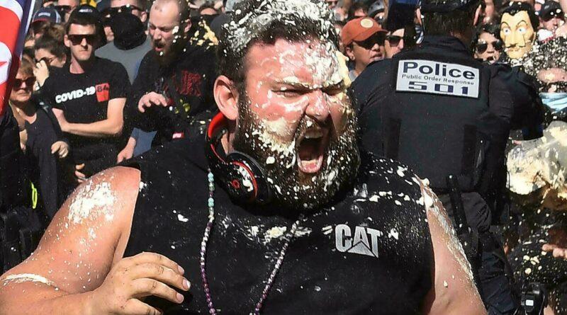 Proteste violente în Australia: 270 de protestatari au fost arestați – 60m.ro – 4media.INFO