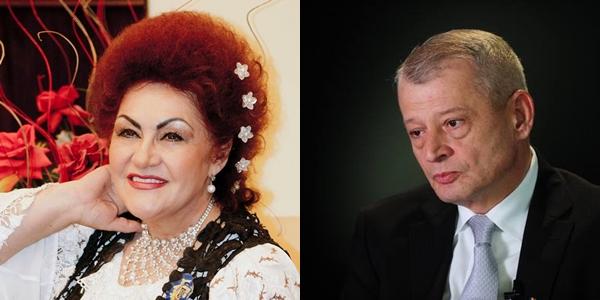 Elena Merișoreanu și Sorin Oprescu s-au infectat cu Covid și sunt internați în spital. Ambii fac perfuzii, deși sunt vaccinați, iar artista spune că și ceilalți pacienți din salon sunt imunizați