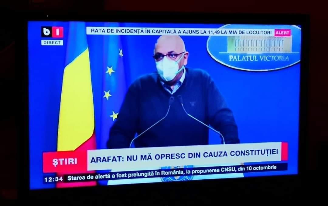 Arafat, întrebat dacă îşi dă DEMISIA – 60m.ro