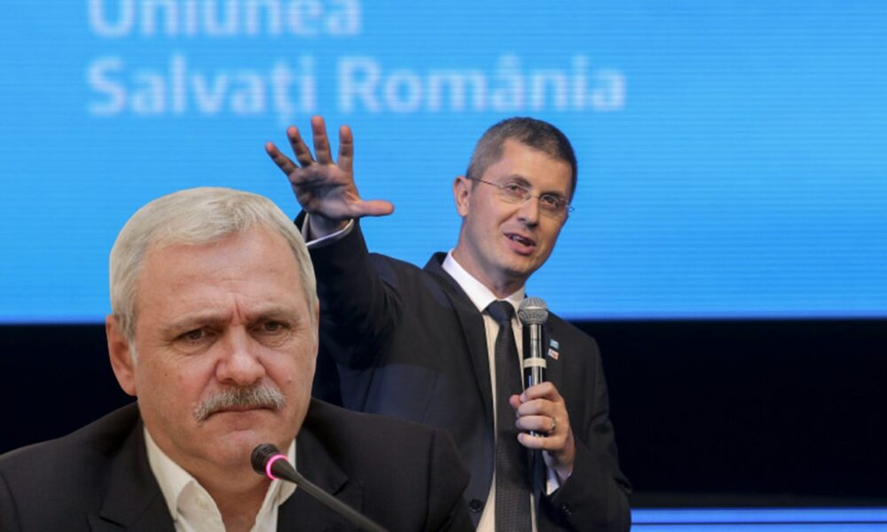 USR angajează oamenii PSD în guvernul României… Curat murdar coane fănică