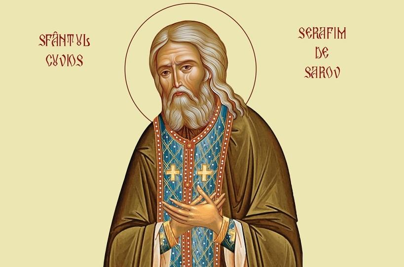 Calendarul zilei 2 ianuarie: Sfântul Serafim de Sarov
