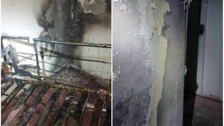 Incendiu în noaptea de Crăciun la Spitalul de Psihiatrie din Iași / Un bărbat de 33 de ani a murit   .News