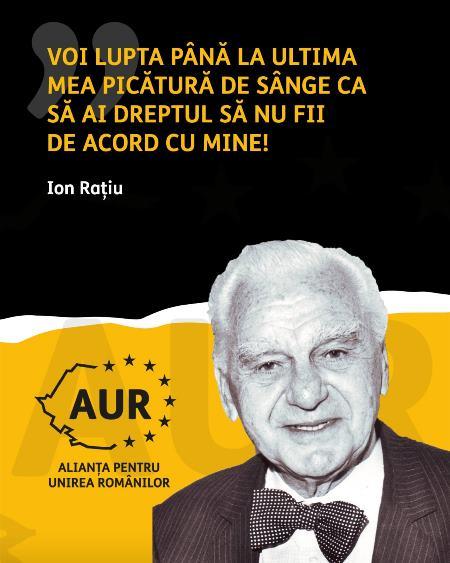 """Răspunsul AUR la petiția împotriva dialogului politic: """"Elită închipuită"""" și """"dușmanii românilor – așa ați fost, așa ați rămas"""". Și un citat din Ion Rațiu"""
