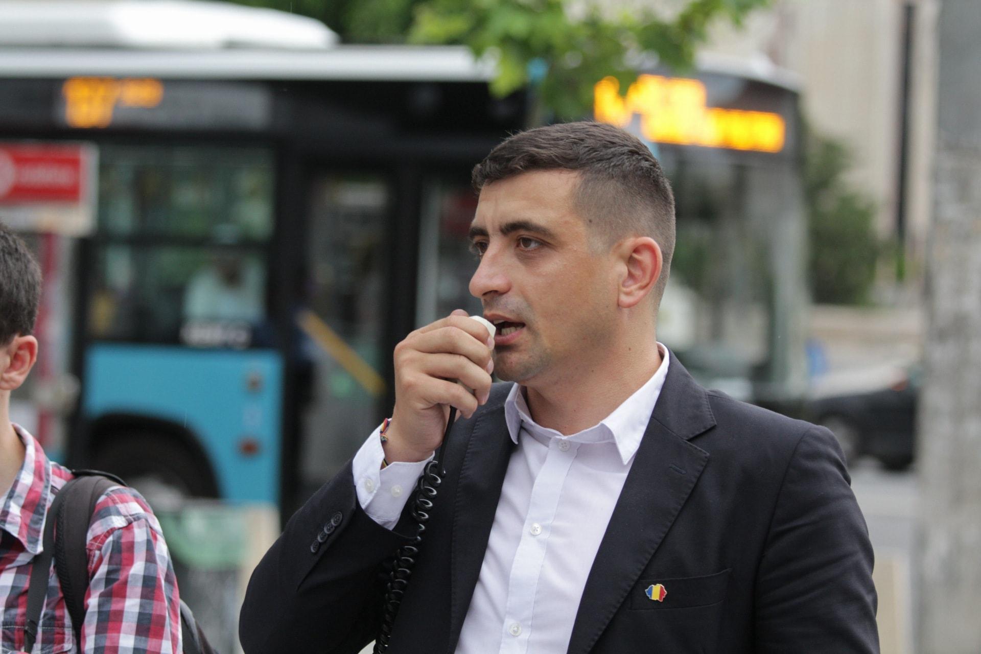 George Simion: lucrăm la proiectul AUR pentru ca în 2024 să putem conduce România