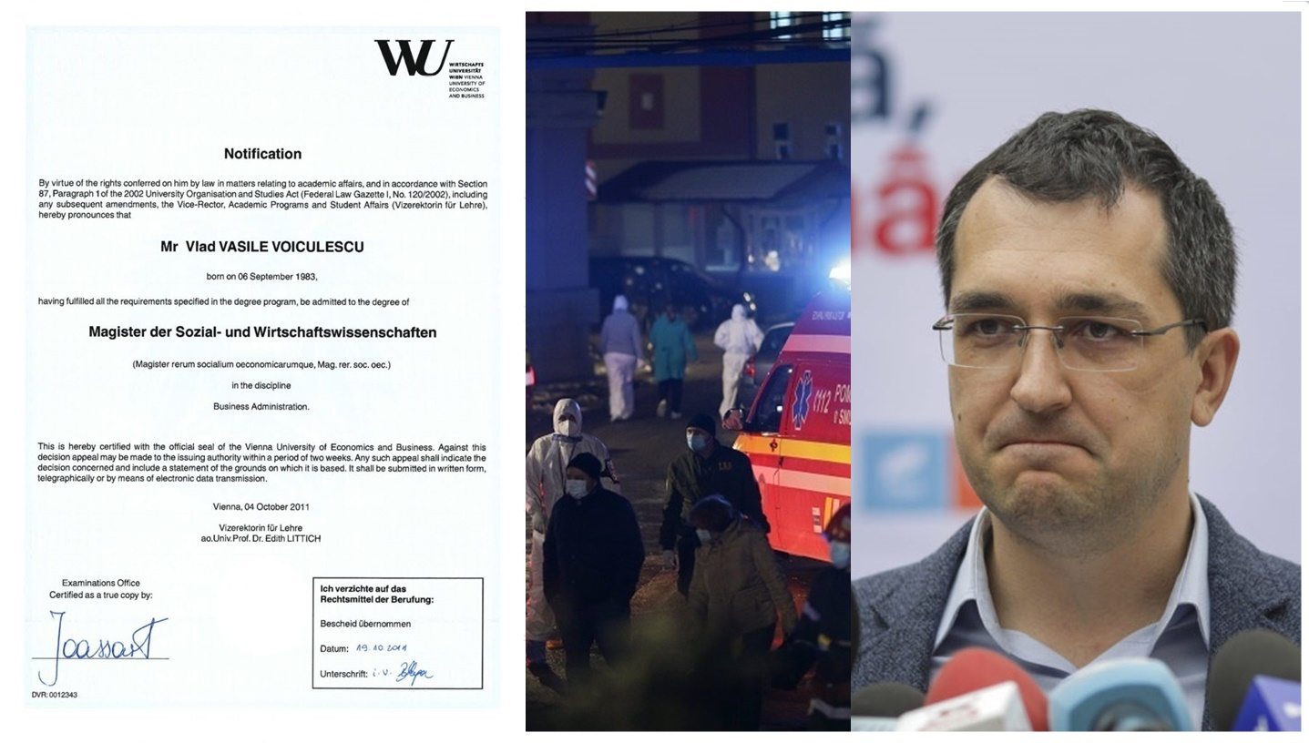 Bescheid nu este diplomă! 1. Foaia Matricolă 2. Diploma cu semnāturi ale profesorilor dl. Vlad Voiculescu? – CRITICII.RO