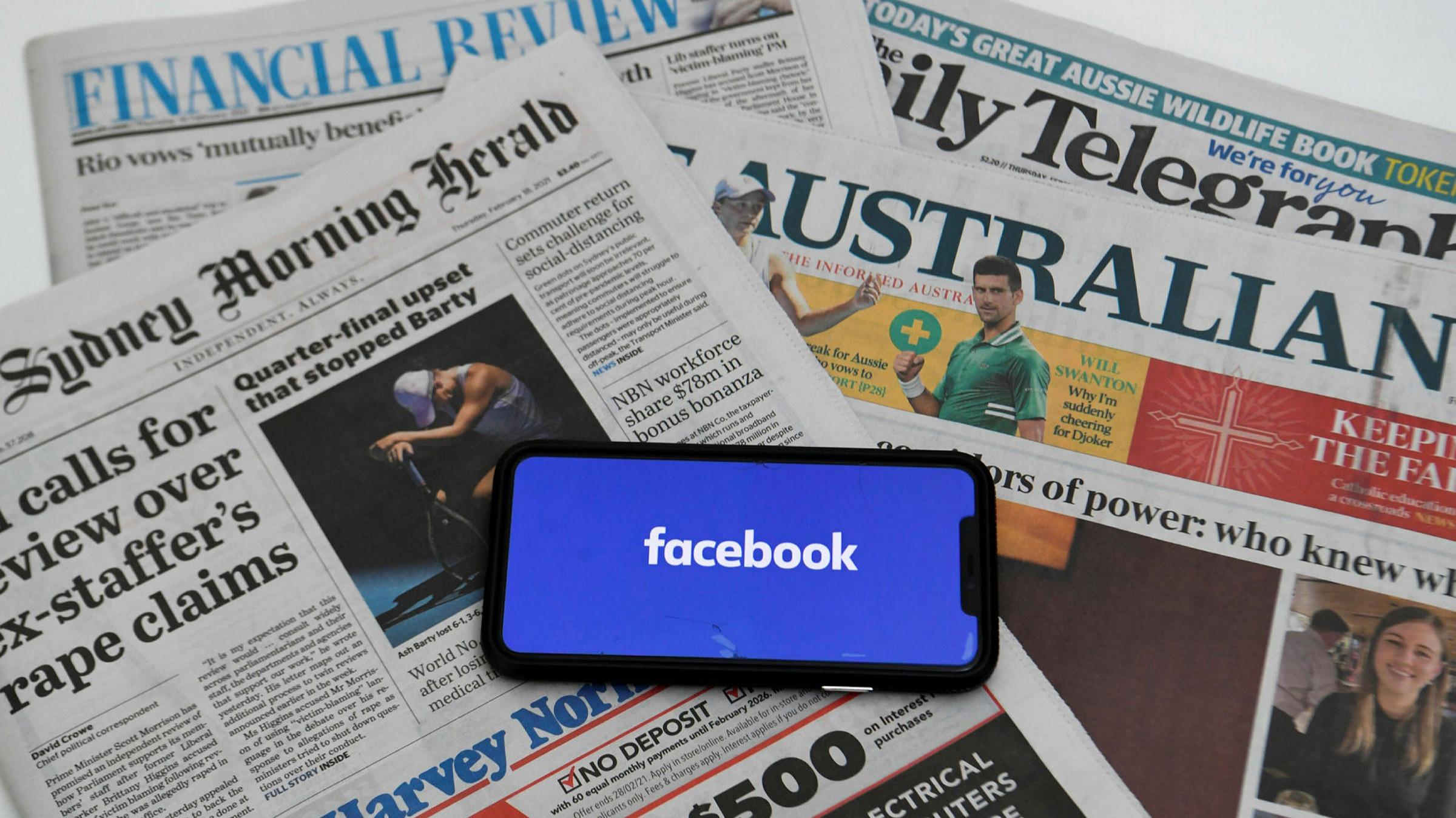 Facebook a blocat toată PRESA din Australia