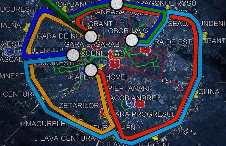 Propunere: 530 de milioane euro din PNNR pentru trenul metropolitan din București
