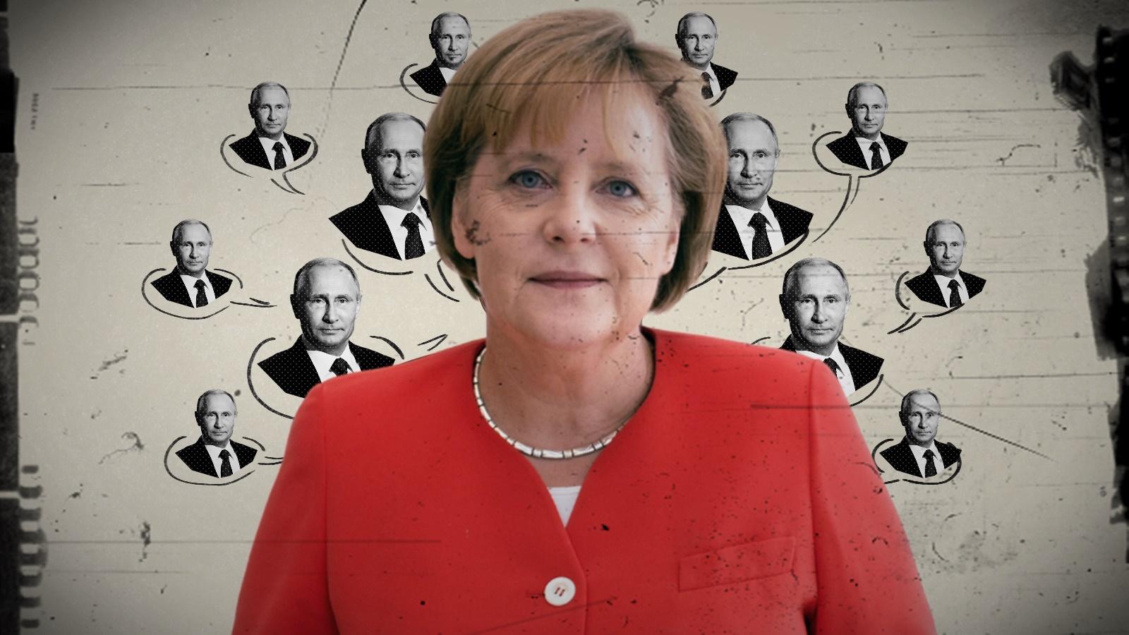 Merkel a trădat SUA pentru Rusia lui Putin