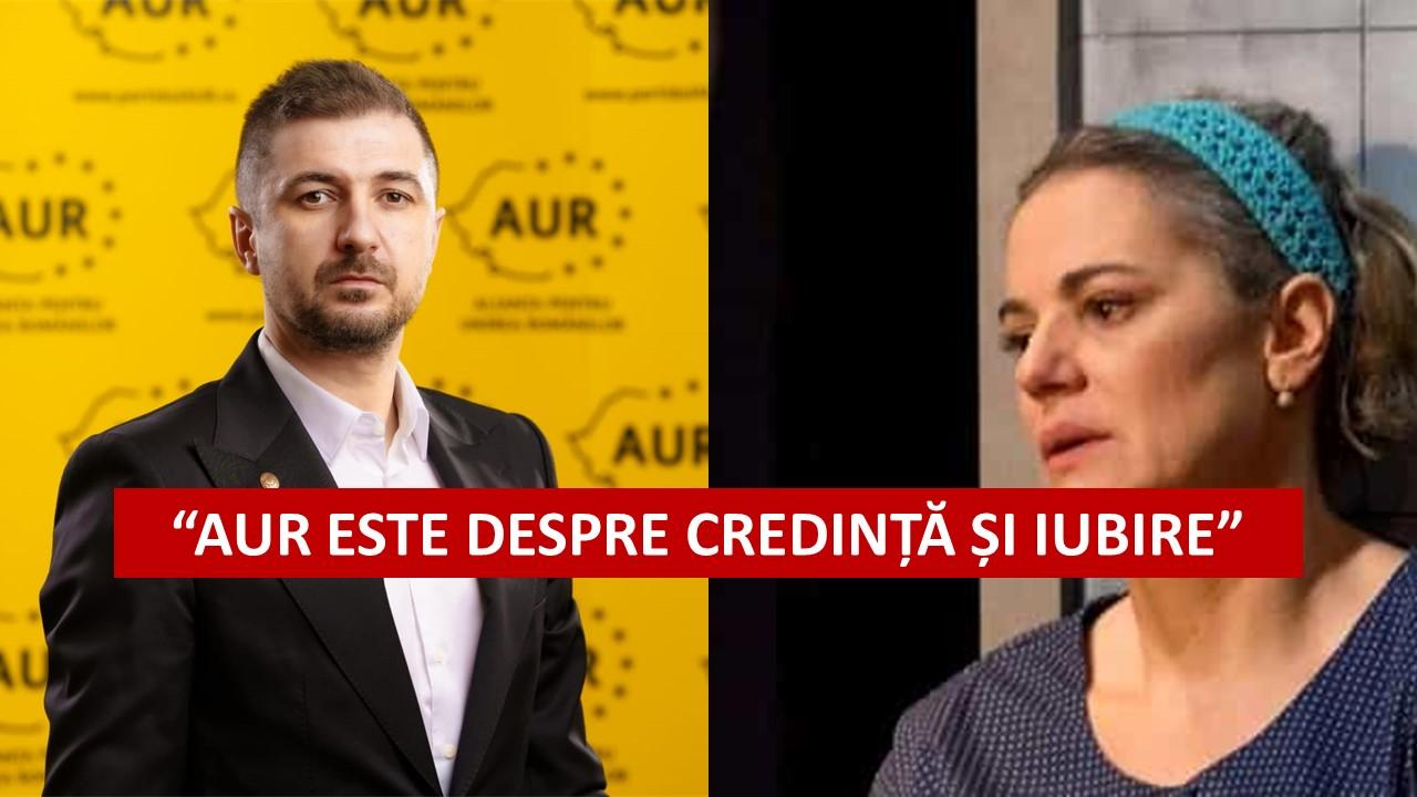 Adrian Axinia(AUR): AUR este despre IUBIRE. Este o încercare de discreditare eșuată