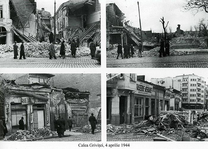 Calendarul zilei   4 aprilie 1944, cea mai neagră zi a Capitalei: 2942 de bucureșteni uciși de bombardamentele americane. Aviatorii care au adus moartea au monument, victimele nicio cruce