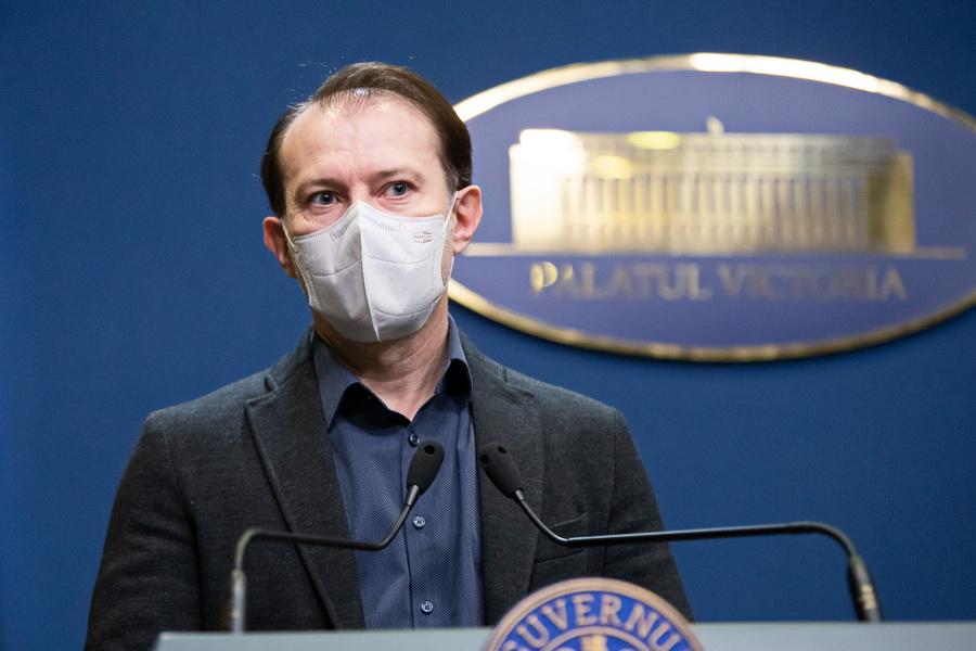 Florin Cîțu: Mergem în direcția relaxării economiei, cu condiția să ne vaccinăm cu toții