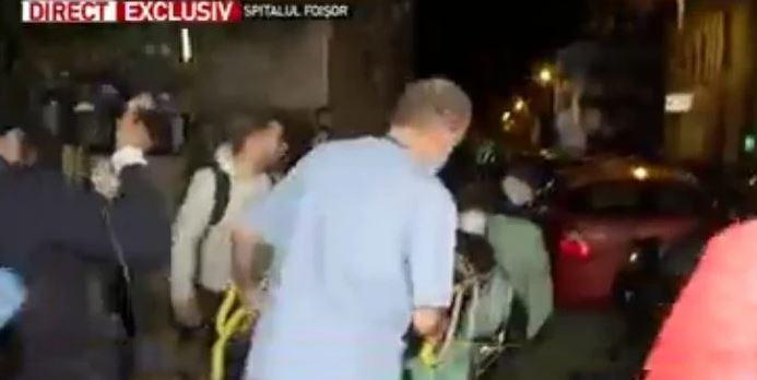 Pacienții, inclusiv operați, evacuați din Spitalul Foișor din București, transformat în spital Covid