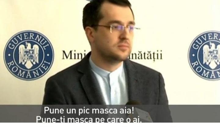 VIDEO: Vlad Voiculescu nu poartă mască! Gafe monumentale la conferința de presă