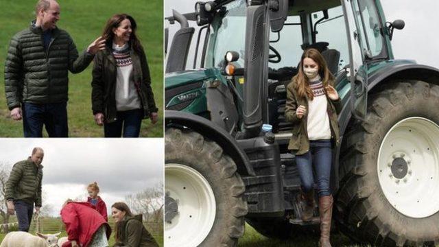 Prințul William și Ducesa Kate – vizită la fermă. Cei doi au aniversat la țară cei 10 ani de la căsătorie