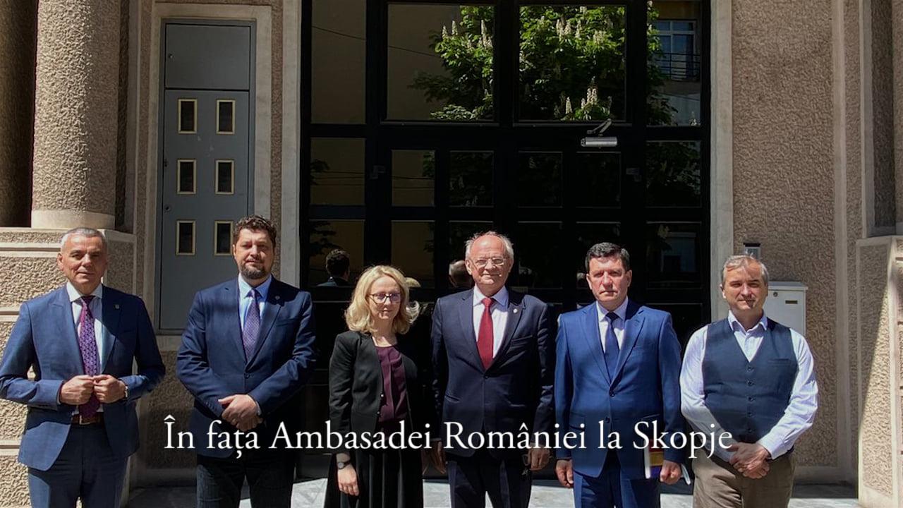 Claudiu Târziu: România, ca stat înrudit al aromânilor și meglenoromânilor din Macedonia de Nord, are obligația de a-i sprijini