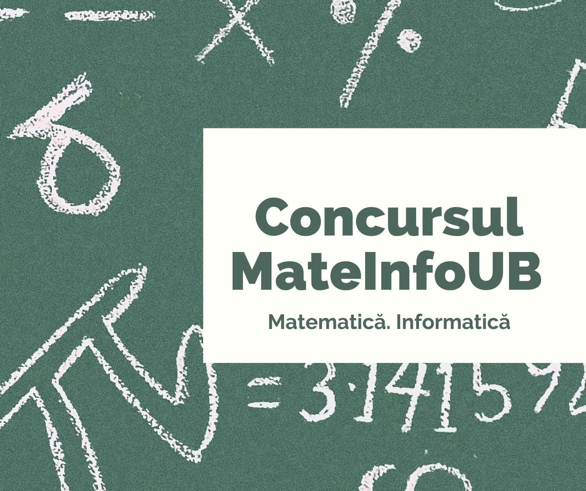 Intuitext, prin viitoriolimpici.ro, alături de Facultatea de Matematică și Informatică a Universității din București, pornește competiția MateInfoUB