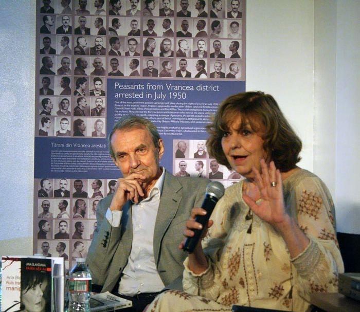 Ana Blandiana a primit titlul de cetățean de onoare al județului Maramureș