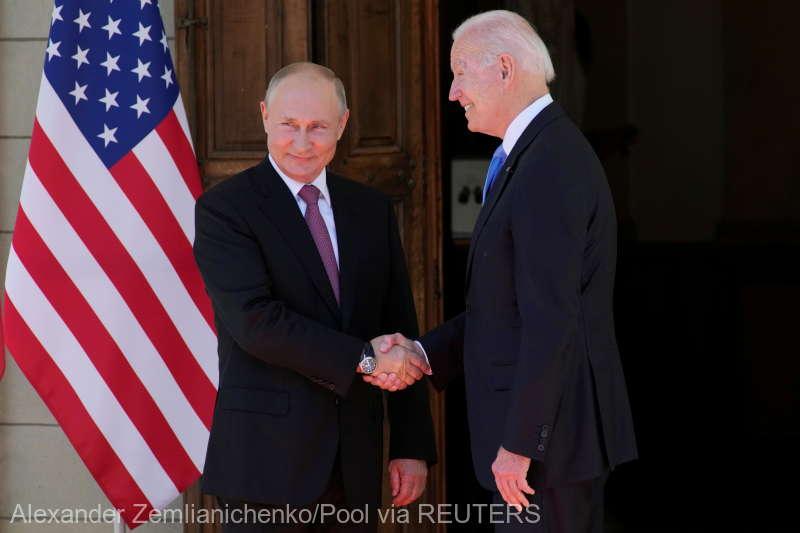 Declarația comună a președinților Joe Biden și Vladimir Putin: Un război nuclear nu trebuie să aibă loc niciodată